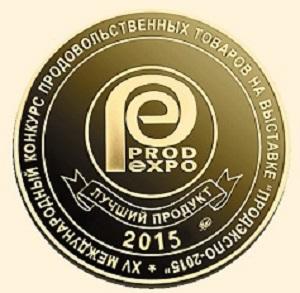 Золотая медаль Продэкспо 2015