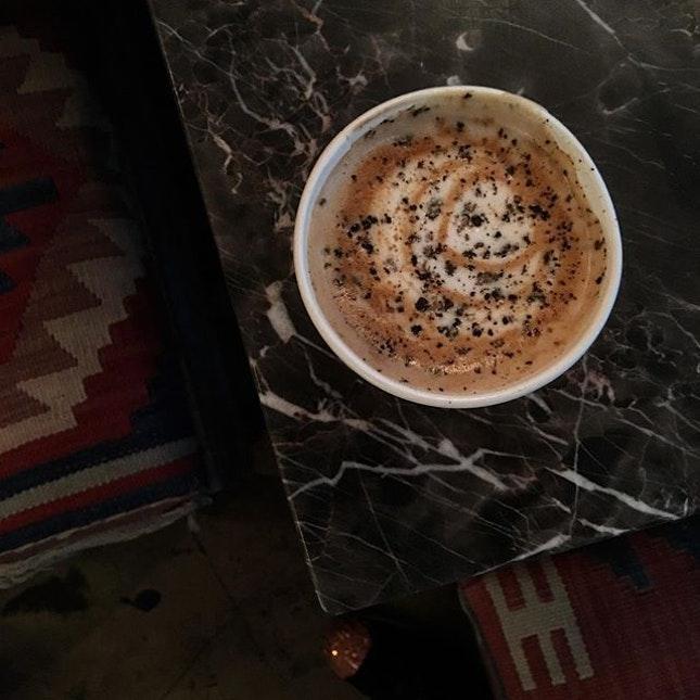 Черный перец в кофе