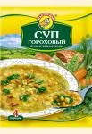 Суп гороховый с копченостями 60 гр