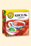 """Кисель """"Клубника + 10 витаминов"""" 220 гр"""