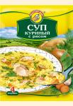 Суп куриный с рисом 60 гр