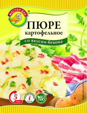 Пюре картофельное со вкусом бекона 34 гр.