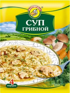 Суп грибной 60 гр.