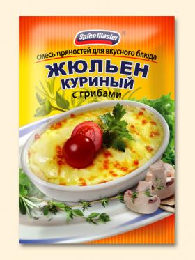 """Смесь пряностей для вкусного блюда """"Жульен куриный с грибами"""""""