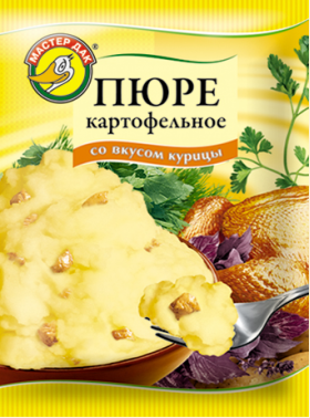 Пюре картофельное со вкусом курицы 34 гр