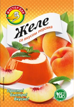 Желе со вкусом персика 45 гр.