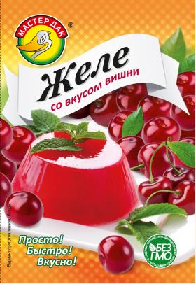 Желе со вкусом вишни 45 гр.