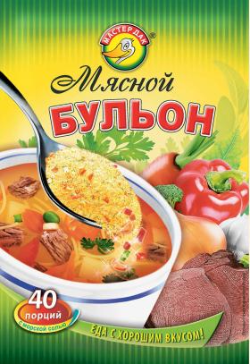 Бульон мясной 100 гр
