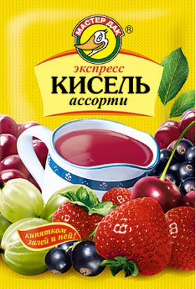 Экспресс-кисель Ассорти 30 гр