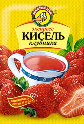 Экспресс-кисель Клубника 30 гр
