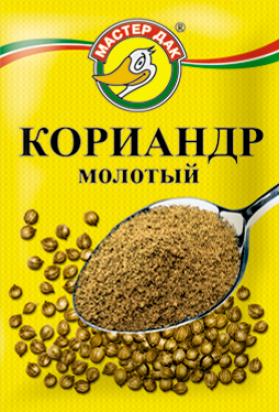 Кориандр молотый 10 гр