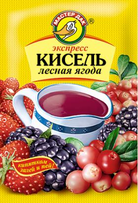 Экспресс-кисель Лесная ягода 30 гр