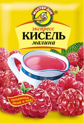 Экспресс-кисель Малина 30 гр