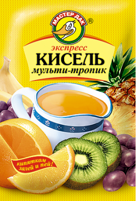 Экспресс-кисель Мультитропик 30 гр