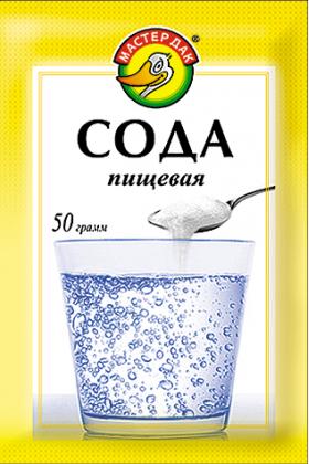 Сода пищевая 50 гр