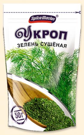 Укроп сушеный 40 гр.