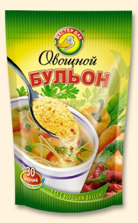 Бульон овощной 150 гр