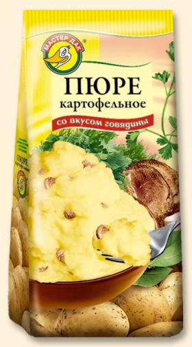 Пюре картофельное со вкусом говядины 120 гр